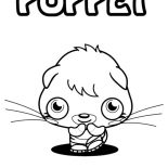 Moshi, Shy Moshi Monster Poppet Coloring Pages: Shy Moshi Monster Poppet Coloring Pages