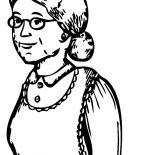Grandmother, Sketch Of My Grandmother Coloring Pages: Sketch of My Grandmother Coloring Pages