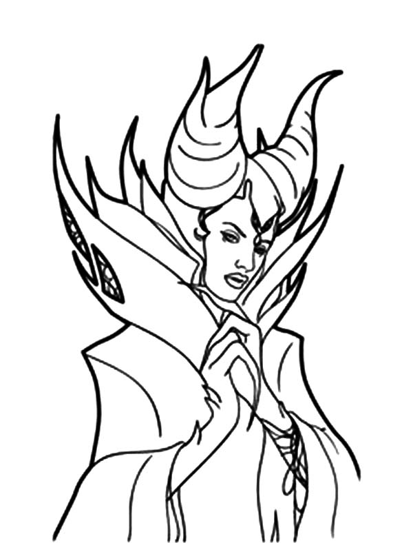 Maleficent, : Sleeping Beauty Maleficent Coloring Pages