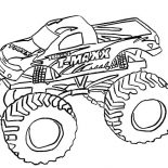 Monster Jam, T Maxx Monster Jam Coloring Pages: T Maxx Monster Jam Coloring Pages