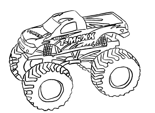 Monster Jam, : T Maxx Monster Jam Coloring Pages