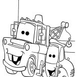 Mater, Tow Mater Bestfriend Guido Coloring Pages: Tow Mater Bestfriend Guido Coloring Pages