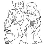 Mexican Dress, Traditional Mexican Dress Coloring Pages: Traditional Mexican Dress Coloring Pages
