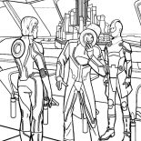 Tron, Tron Enemy Making Evil Plan Coloring Pages: Tron Enemy Making Evil Plan Coloring Pages