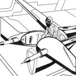 Tron, Tron Legacy Flying Troops Coloring Pages: Tron Legacy Flying Troops Coloring Pages