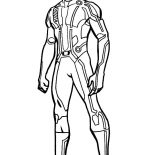 Tron, Tron Legacy Kevin Flynn Coloring Pages: Tron Legacy Kevin Flynn Coloring Pages