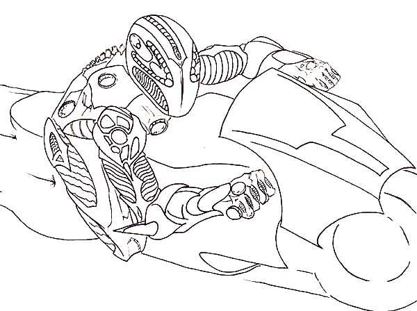 Tron, Tron Legacy Light Cycle Match Coloring Pages: Tron Legacy Light Cycle Match Coloring Pages