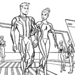 Tron, Tron Legacy Take A Tour Coloring Pages: Tron Legacy Take a Tour Coloring Pages