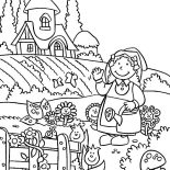 Garden, Welcome To My Lovely Garden Coloring Pages: Welcome to My Lovely Garden Coloring Pages