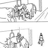 Milking Cow, Af757c37ed55a51c04ced08318558f89 Coloring Page: af757c37ed55a51c04ced08318558f89