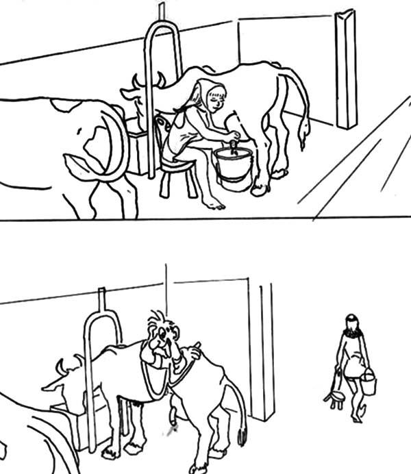 Milking Cow, : af757c37ed55a51c04ced08318558f89