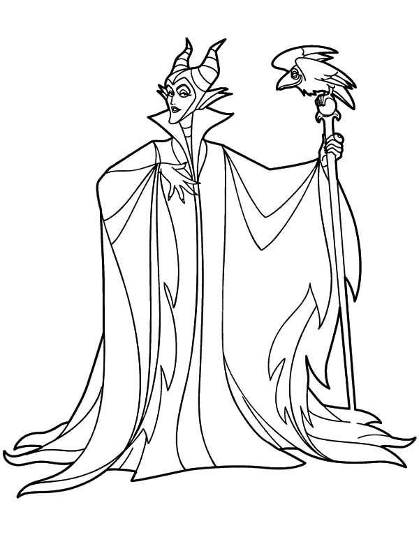 Maleficent, : maleficent-printable-coloring-pages-07