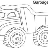 Uncategorized, Garbage Truck Coloring Pages: Garbage-Truck-Coloring-Pages