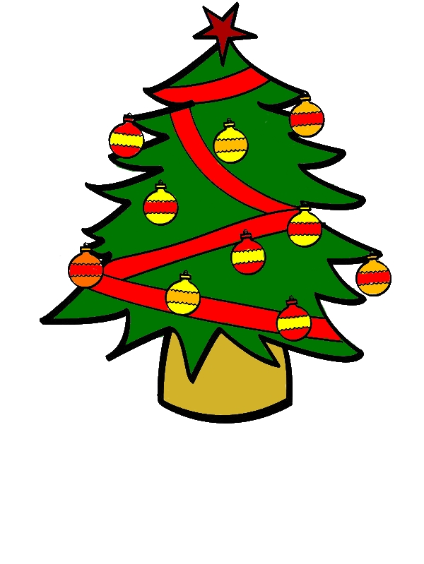 Christmas Trees With A Lot Of Ornaments Coloring Pages by years old Alexander S  Whitt