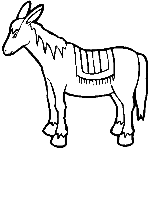 Drawing Mexican Donkey Coloring Pages by years old hfsfgdfg