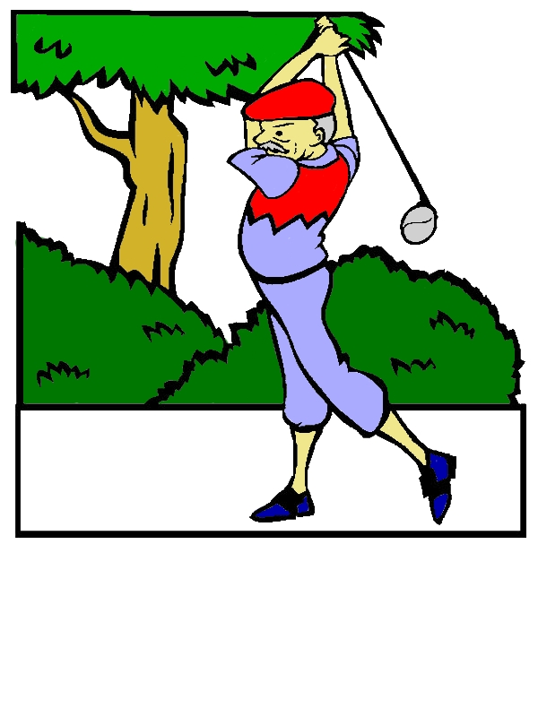 Grandfather Is Golf Athlete Coloring Pages by years old Dominique J  Stewart