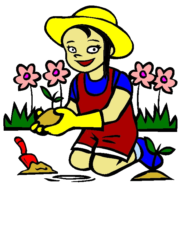 I Love My Garden Coloring Pages by years old Shelia P  Rice