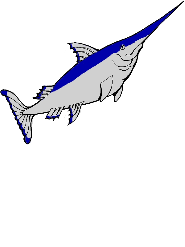 Kid Drawing Of Swordfish Coloring Page by years old Quinton R  Lozano