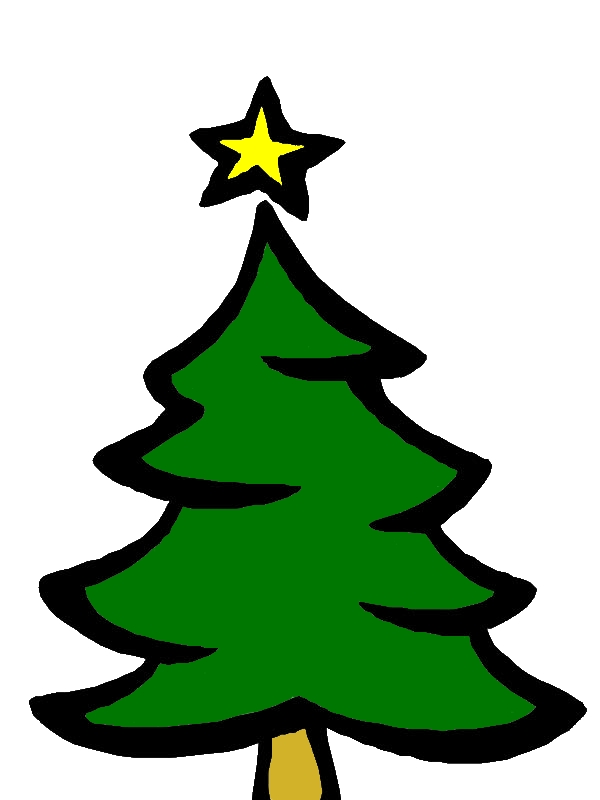 Kids Drawing Christmas Trees Coloring Pages by years old Luis B  Crosby