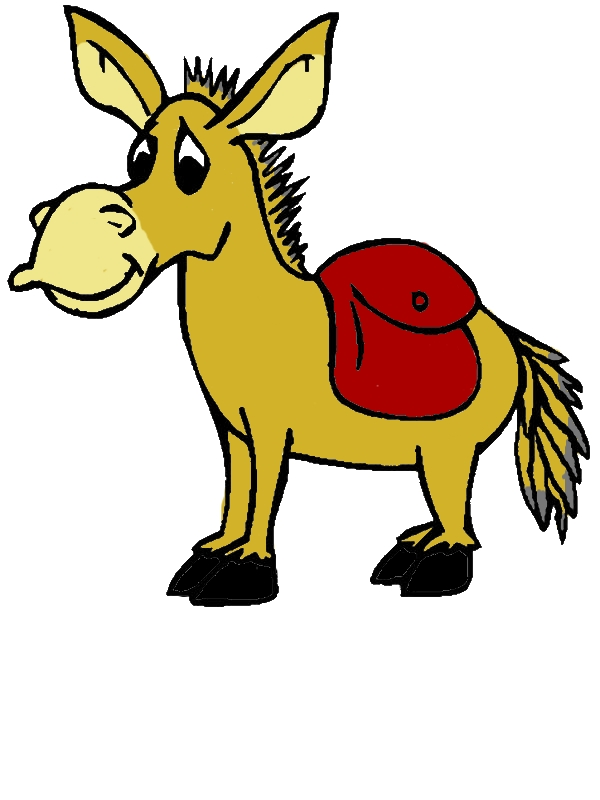 Mexican Donkey Look Sad Coloring Pages by years old Heather R  Thompson