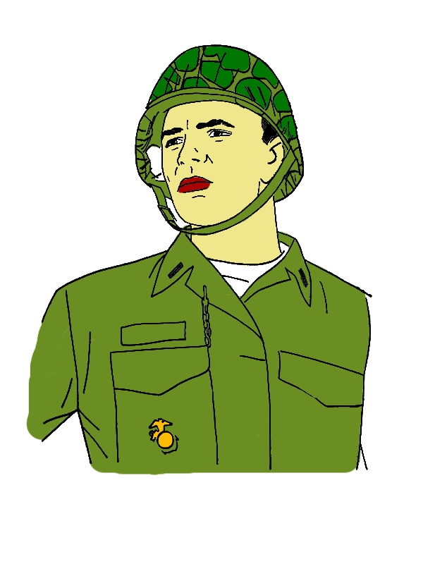 Military Hero Coloring Pages by years old Rita C  Bennett