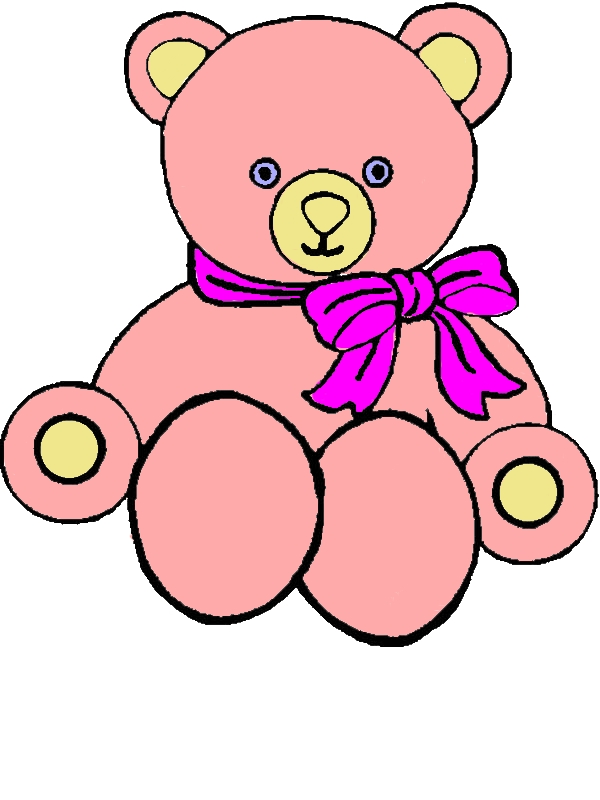 Picture Of Teddy Bear Coloring Page by years old Michael B  Eckert