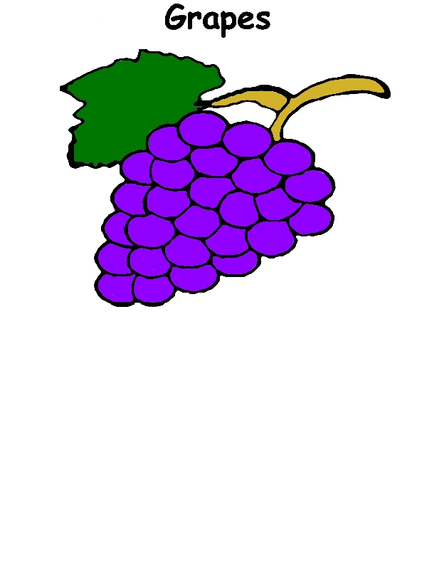 Planting Grapes Coloring Pages by years old Mary W  Kerns