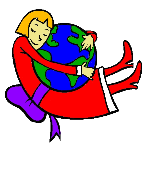 This Girl Loves Earth Day Very Much Coloring Page by years old Francis M  Wolfe