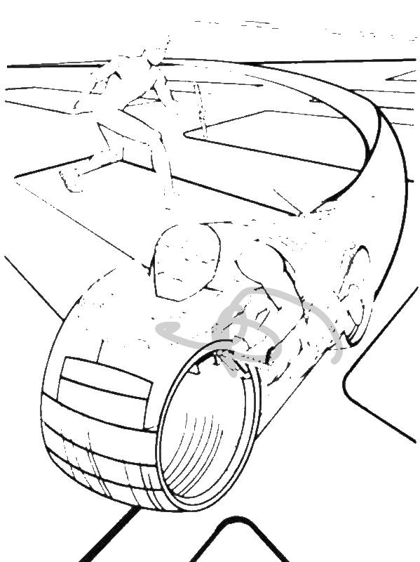 Tron Legacy Sam Flynn Attack Enemy With Barehand Coloring Pages by years old gsdfg